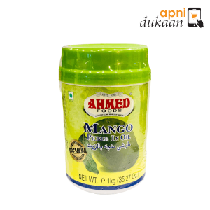 Ahmed Mango Pickle in oil 1 Kg - Apni Dukaan NSW