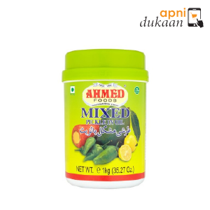 Ahmed mix Pickle in oil 1 Kg - Apni Dukaan NSW