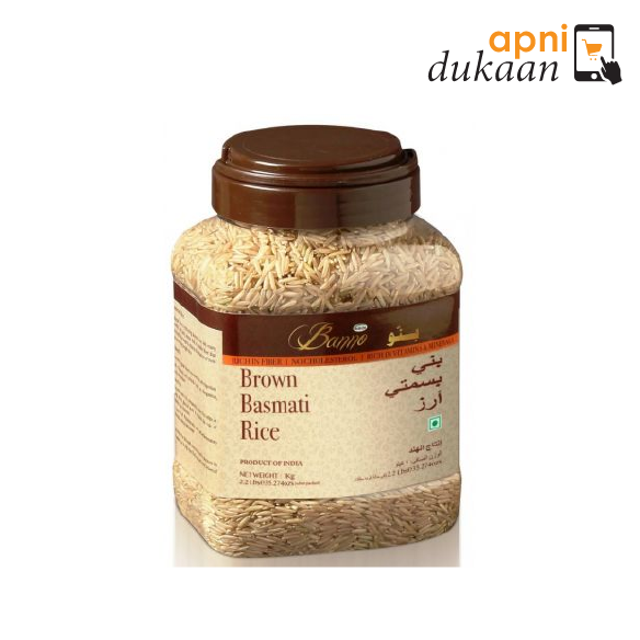 Banne Brown Basmati Rice 1 kg