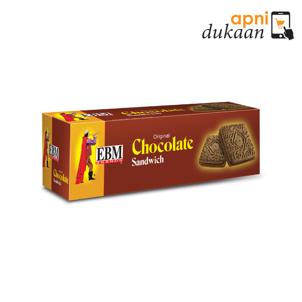 EBM Chocolate Sandwich Biscuits - Apni Dukaan NSW