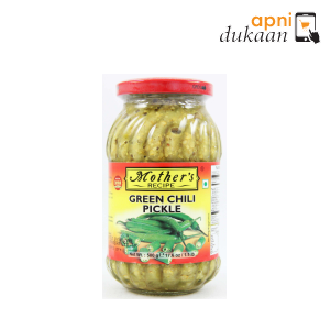 Mothers Green Chilli Pickle 500 gm - Apni Dukaan NSW