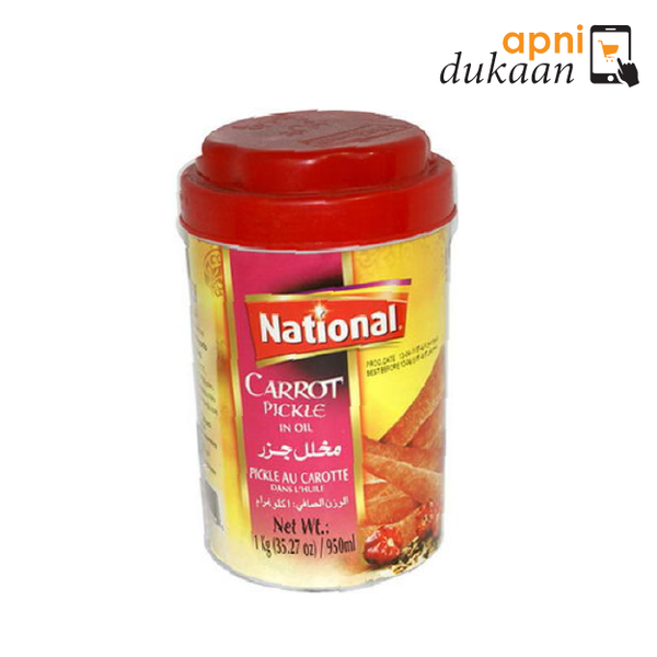 National Carrot Pickle 320g - Apni Dukaan NSW