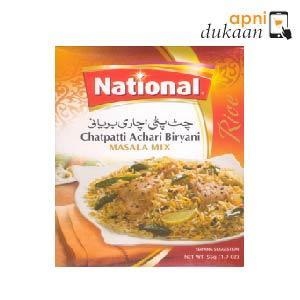 National Chatpati Achari Biryani - Twin Pack - Apni Dukaan NSW