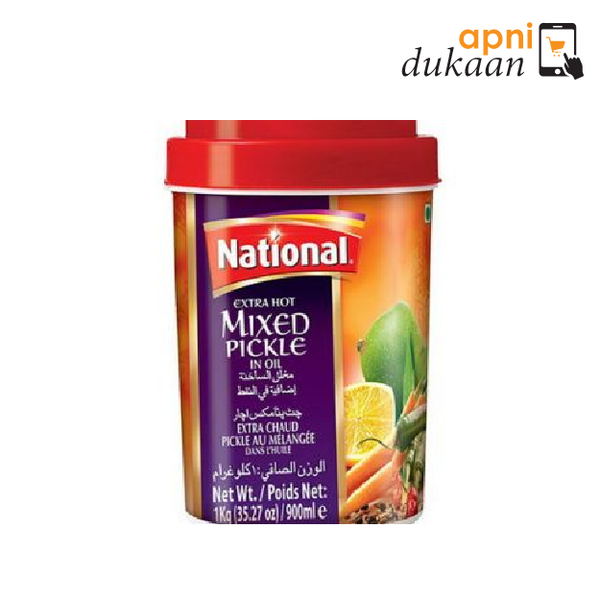 National Extra Hot Mix Pickle 320g - Apni Dukaan NSW