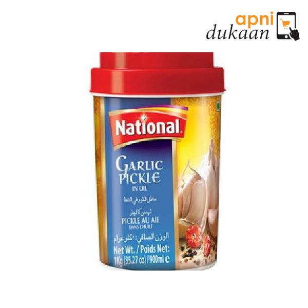 National Garlic Pickle 1Kg - Apni Dukaan NSW