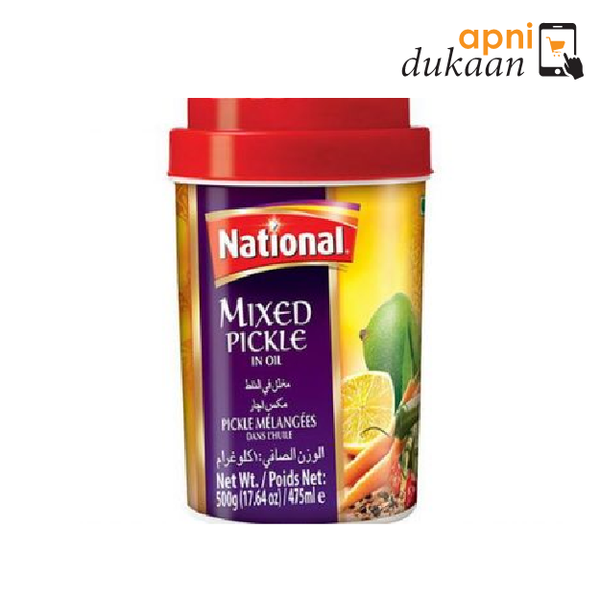 National Mix Pickle 1Kg - Apni Dukaan NSW