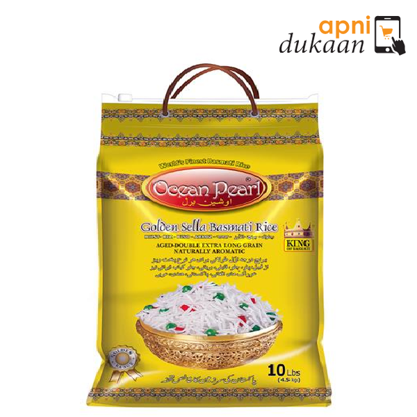 Ocean Pearl Golden Sella Rice 5Kg - Apni Dukaan NSW