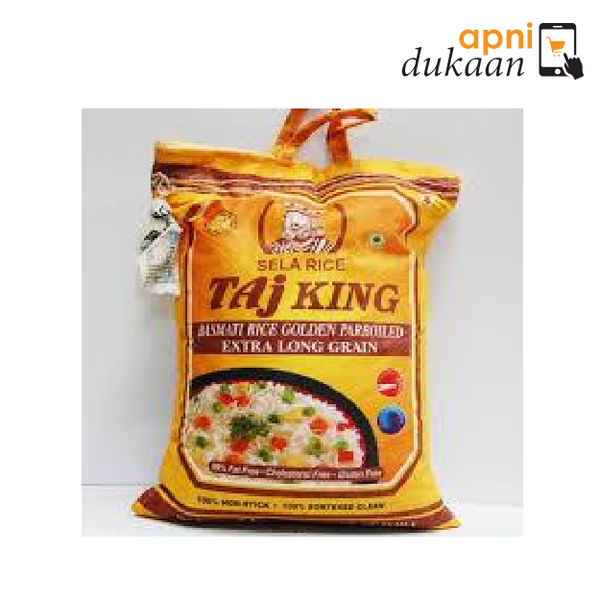 Taj King Sella Rice 5Kg - Apni Dukaan NSW