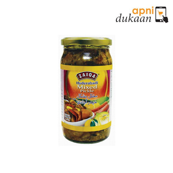 Zaiqa Mixed Pickle 330G - Apni Dukaan NSW