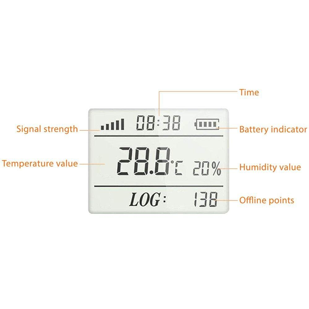 Elitech RCW-360 IoT Temperature and Humidity Data Logger Wireless Remote Monitor Cloud Data Storage - Elitech Technology, Inc.