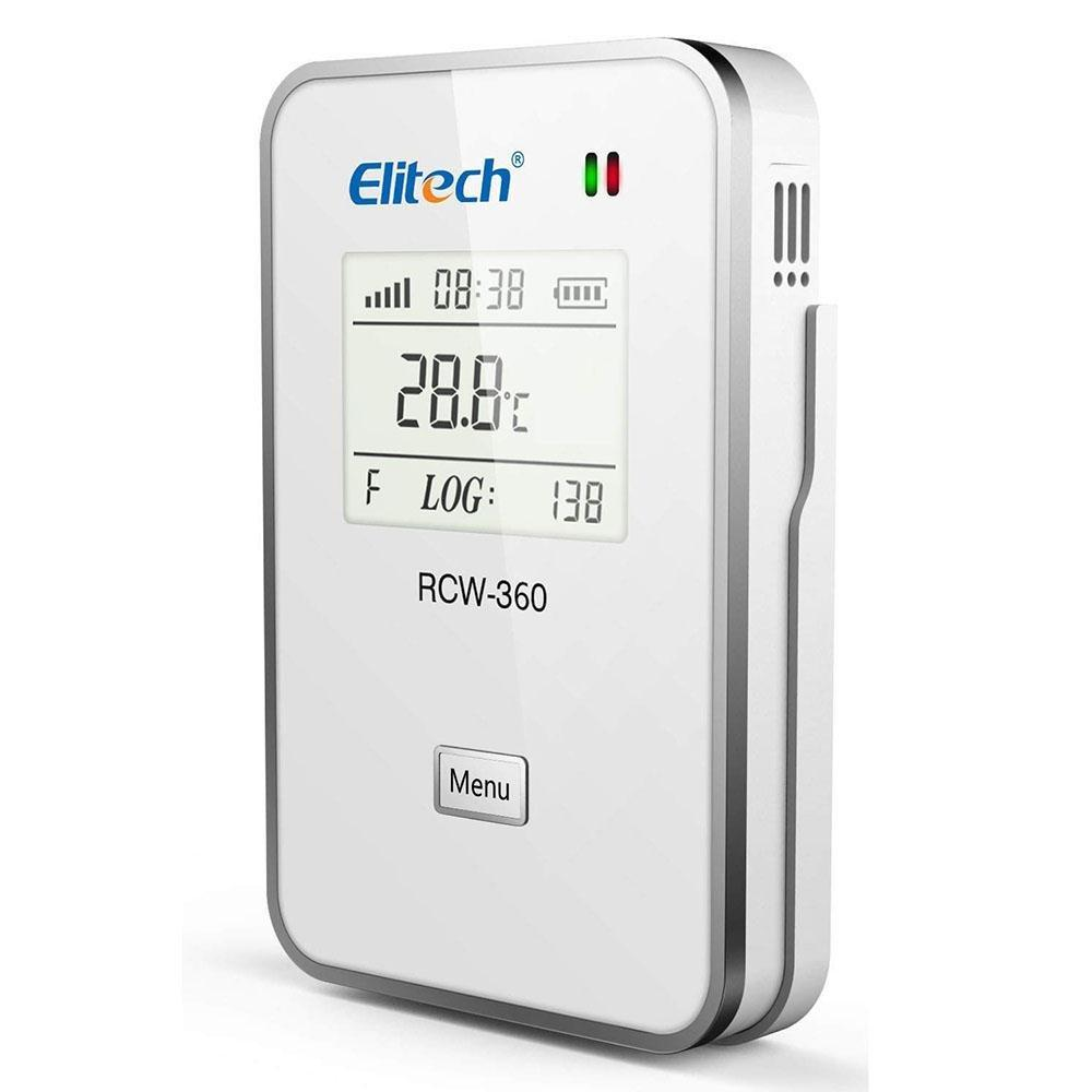 Elitech RCW-360 wifi Temperature Data Logger Wireless Remote Monitor Cloud Data Storage IP 64 Protection - Elitechustore
