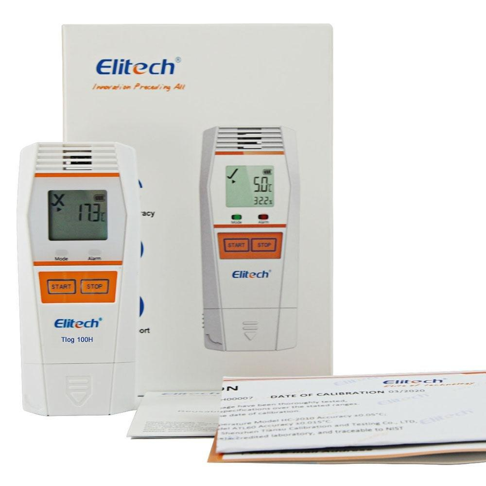 Elitech Tlog 100H Reusable Temperature and Humidity Data Logger - Elitech Technology, Inc.