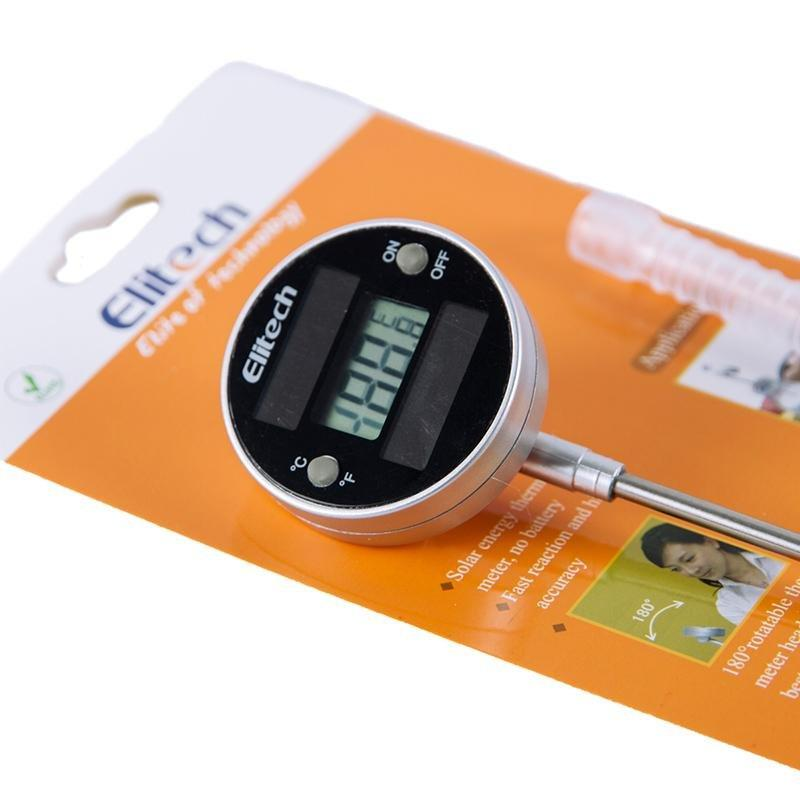 Elitech WT-5 Pen Type Solar Engergy Thermometer for Foodstuff and Medicine Industry - Elitechustore