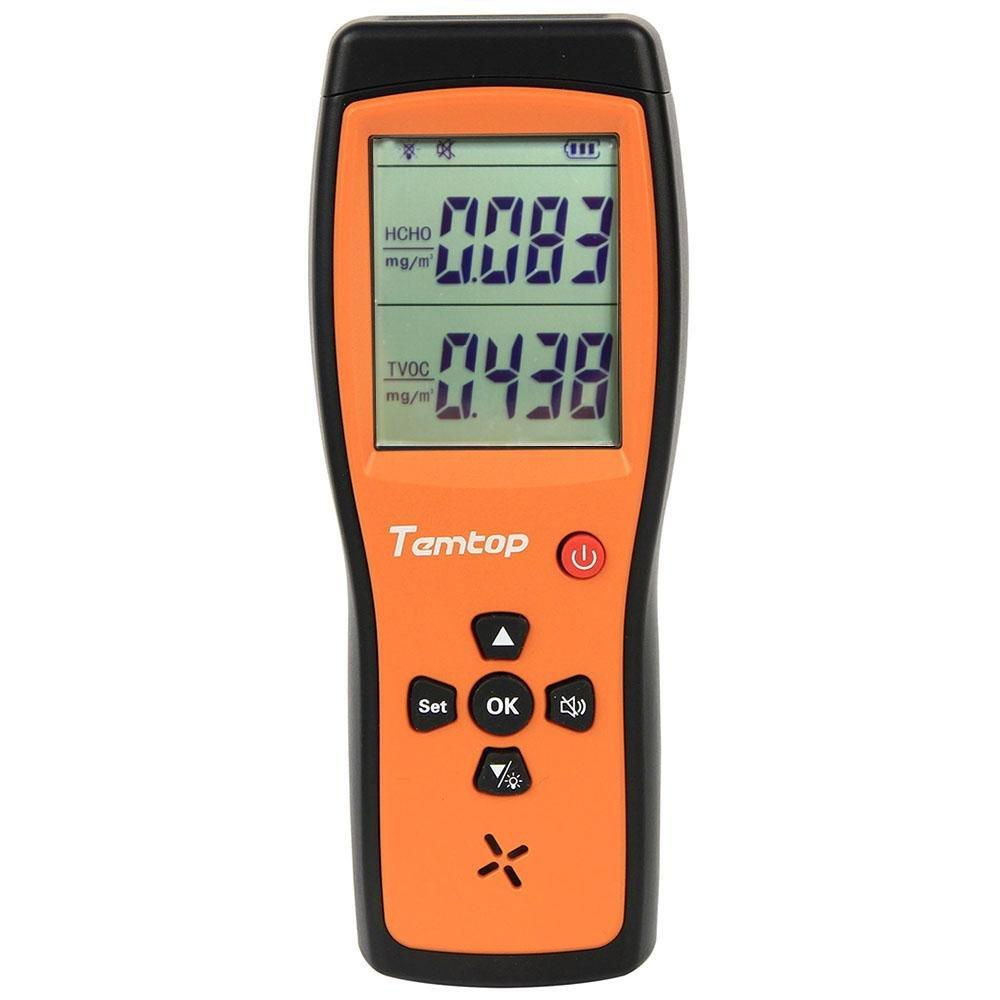 Temtop H2 Air Quality Detector Professional Formaldehyde/TVOC Monitor - Elitechustore