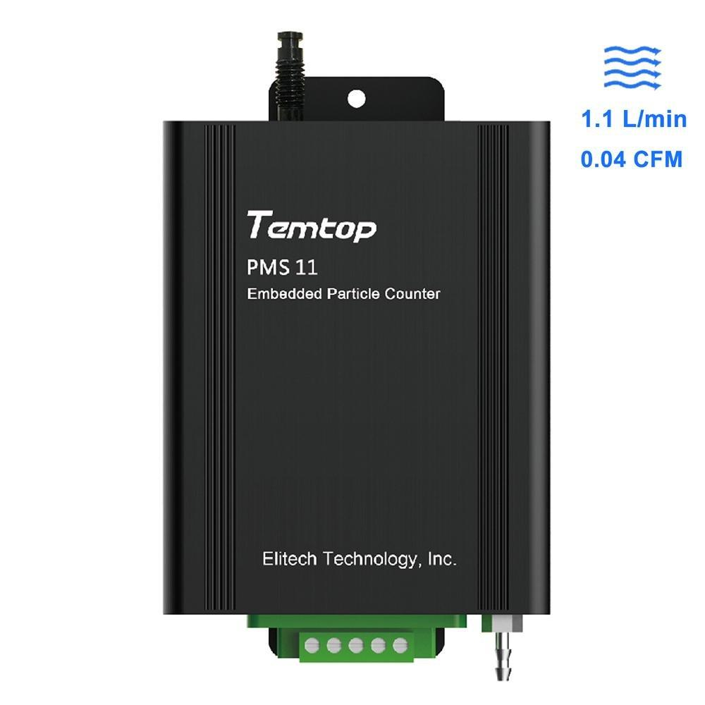 Temtop PMS 11 Embedded Particle Counter for Particulate Filtration Efficiency Tester - Elitech Technology, Inc.