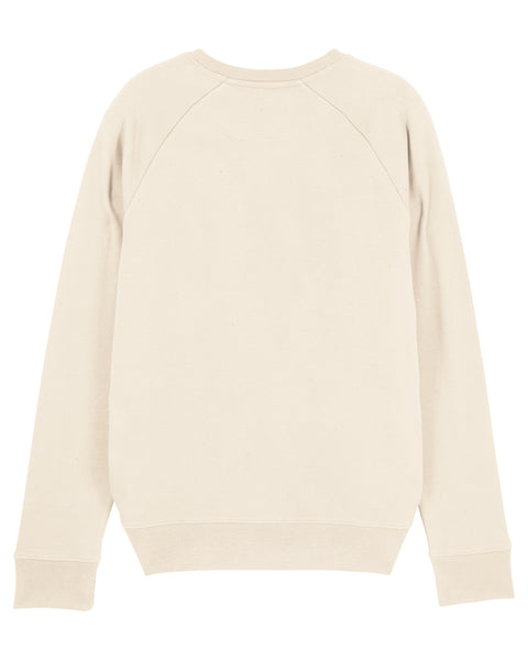 6IX CREW NECK SWEATSHIRT - CREAM - 6IX Collection