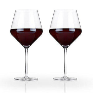 Viski Burgundy Wine Glasses (Set of 2)
