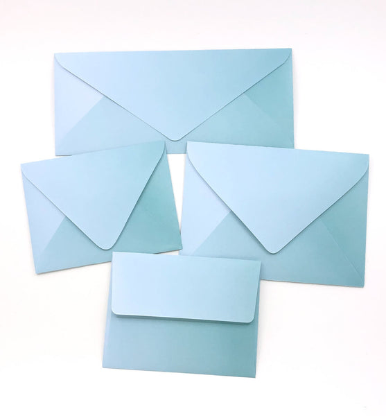 Ombre Seafoam Envelopes