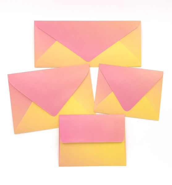 True Sunset Envelopes - 20 per pack