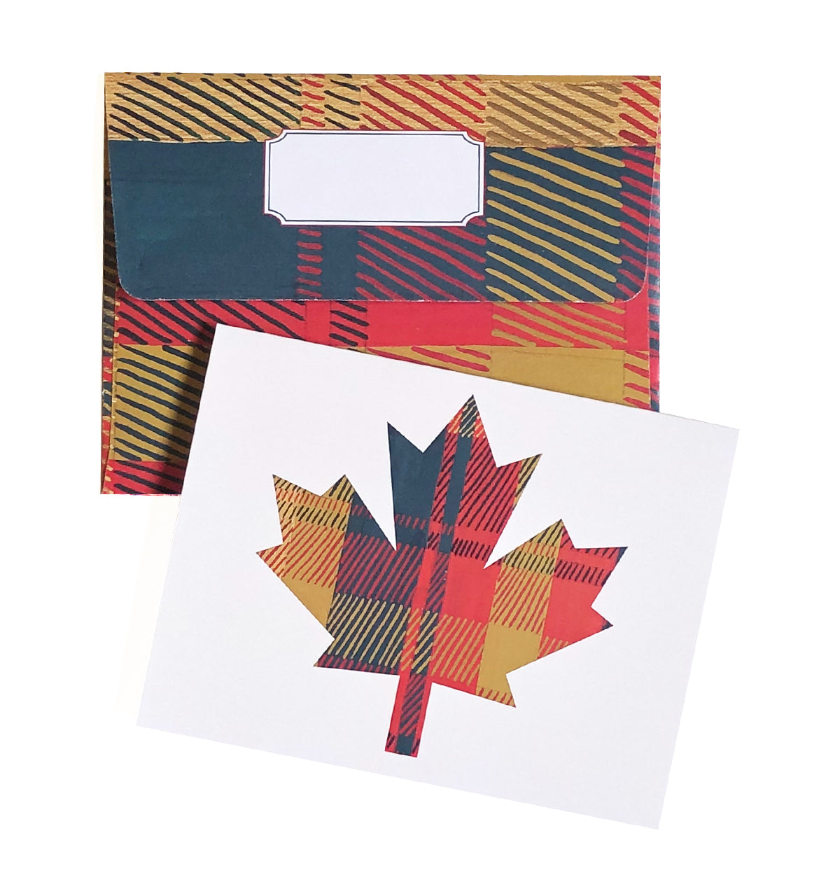 Canadian Maple Leaf Tartan