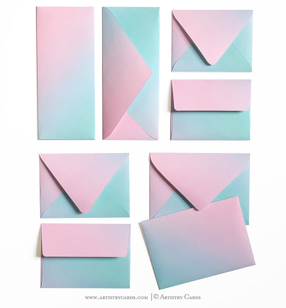 COTTON CANDY ENVELOPES