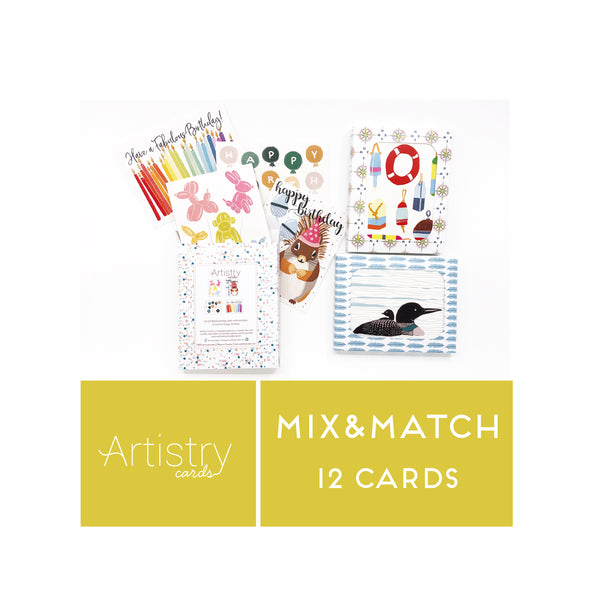 Copy of Mix and Match 12 Greeting Cards