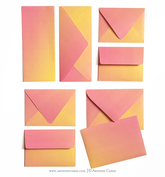 TRUE SUNSET ENVELOPES