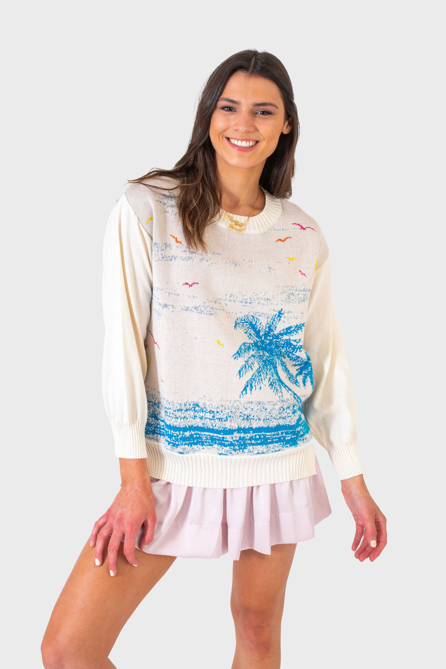 TREVI SWEATER BEACH SCENE *LIMITED*EDITION*