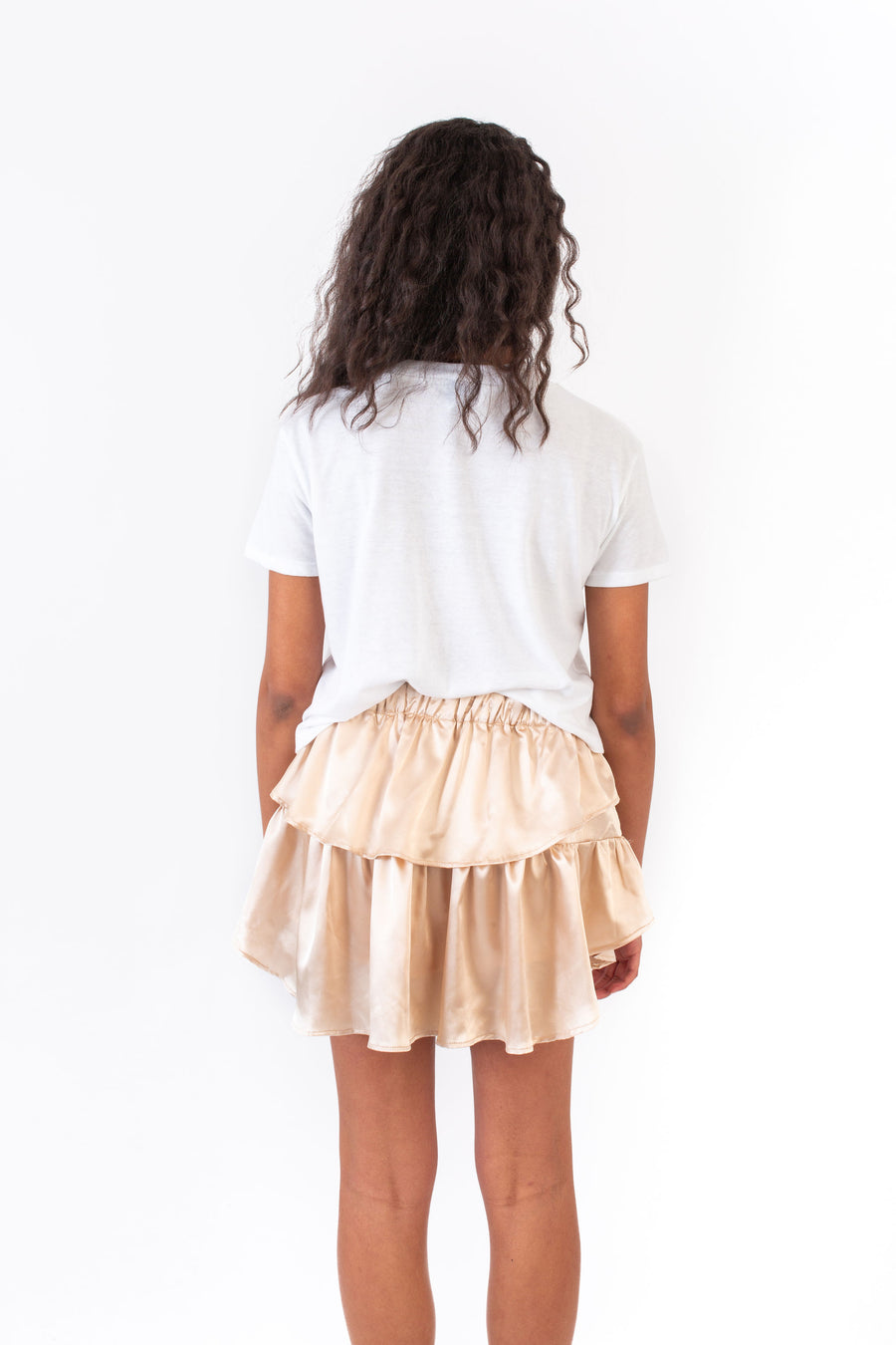 IVY SKIRT GOLD POLYSATIN *LIMITED*EDITION*