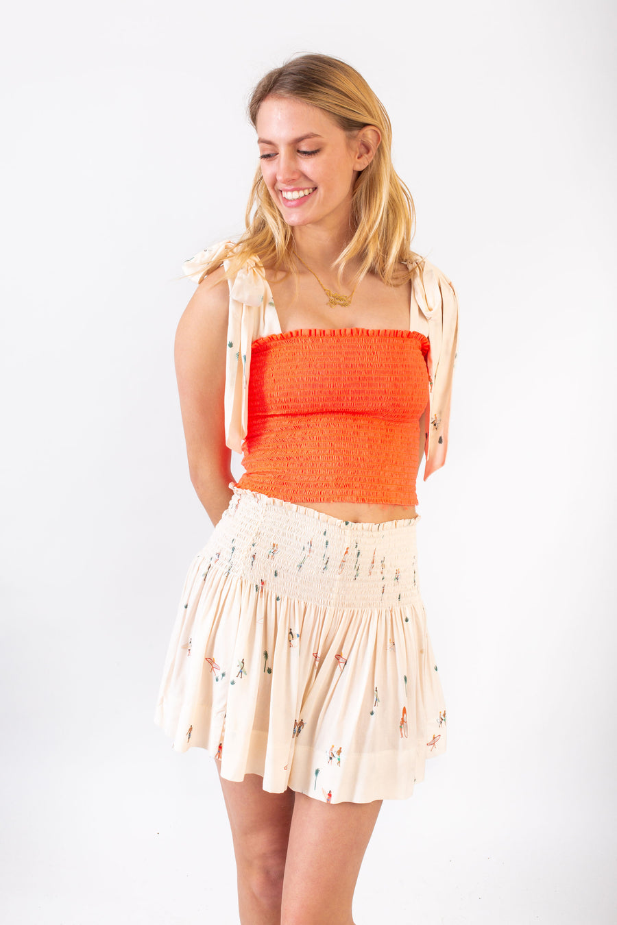 ERICA SKIRT SAND SURF *LIMITED*EDITION*