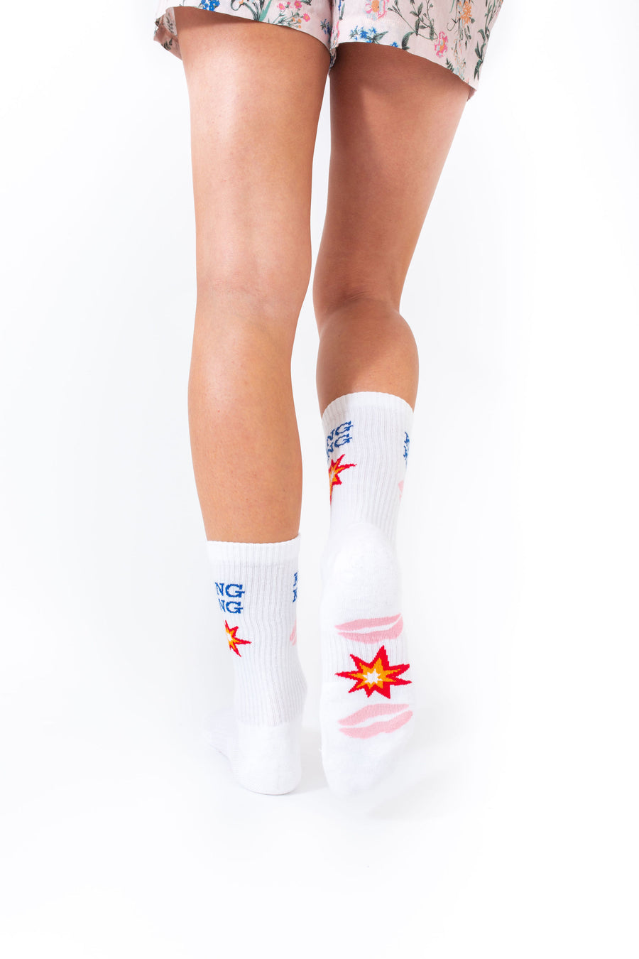 KISS KISS BANG BANG SOCKS *LIMITED*EDITION*