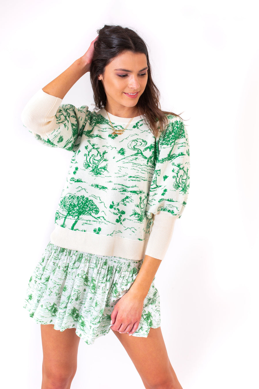 MADELINE SWEATER KELLY TOILE *LIMITED*EDITION*