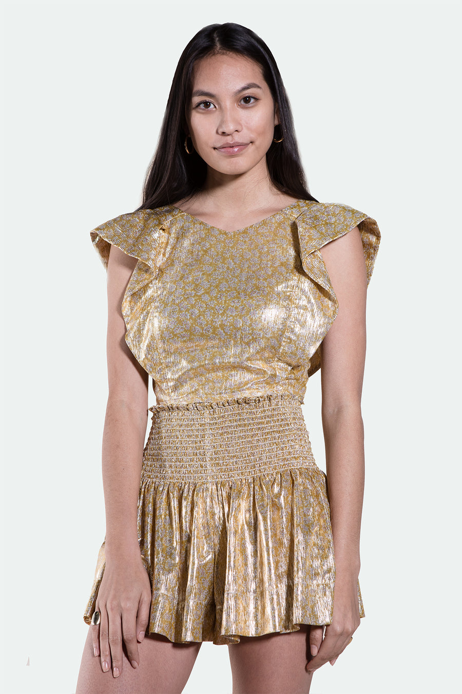 ERICA SKIRT GOLD METALLIC *LIMITED*EDITION*