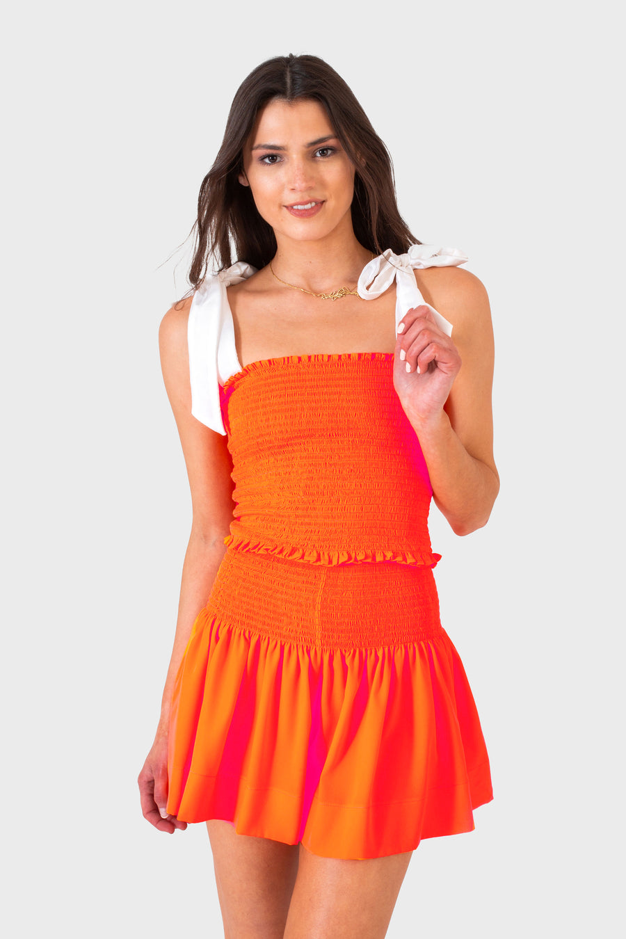 ERICA SKIRT NEON ORANGE *LIMITED*EDITION*