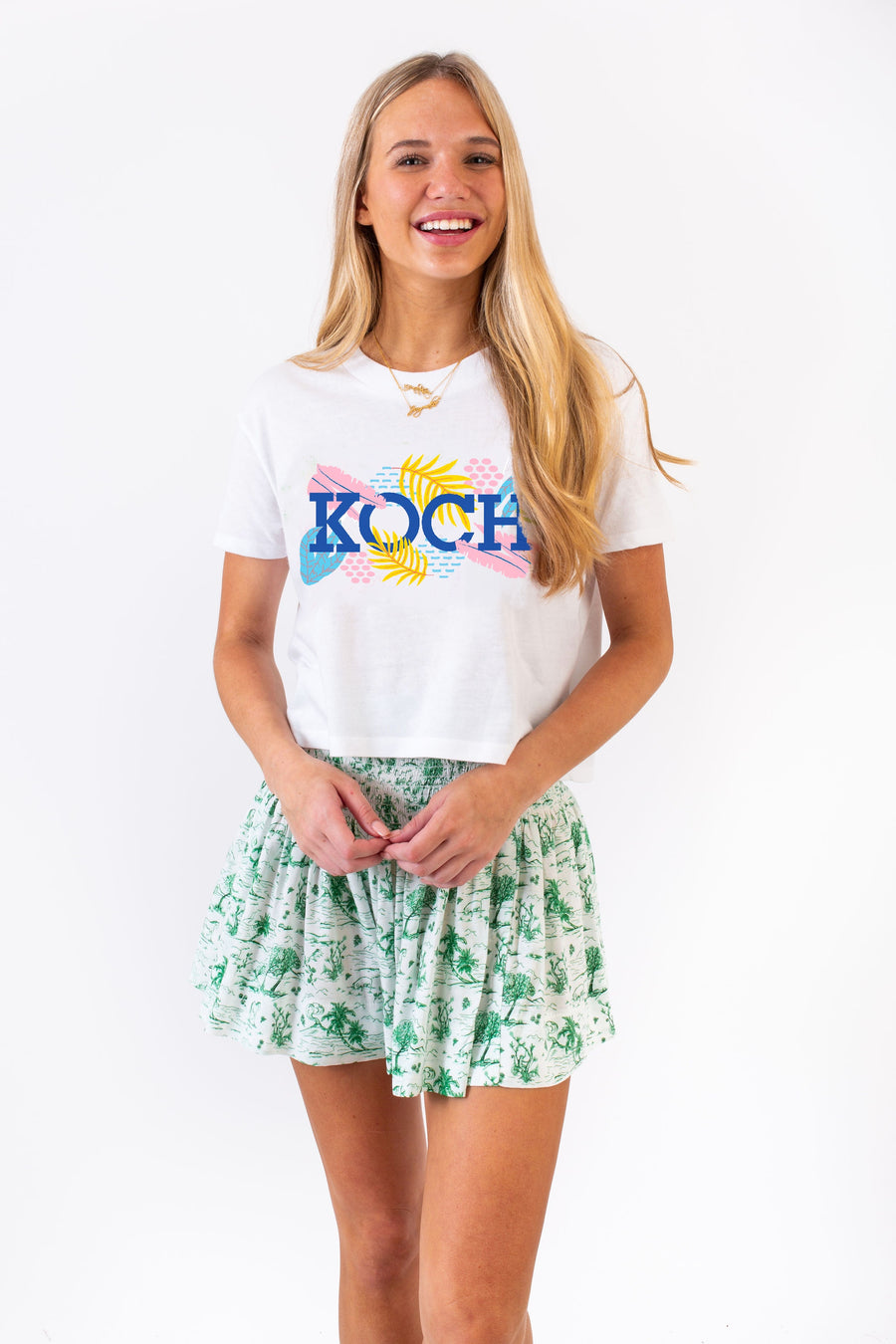 DANNIE CROPPED T-SHIRT KOCH SUMMER *LIMITED*EDITION*