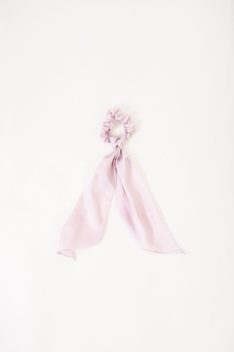 NATALIE SCRUNCHIE LILAC POLYSATIN *LIMITED*EDITION*
