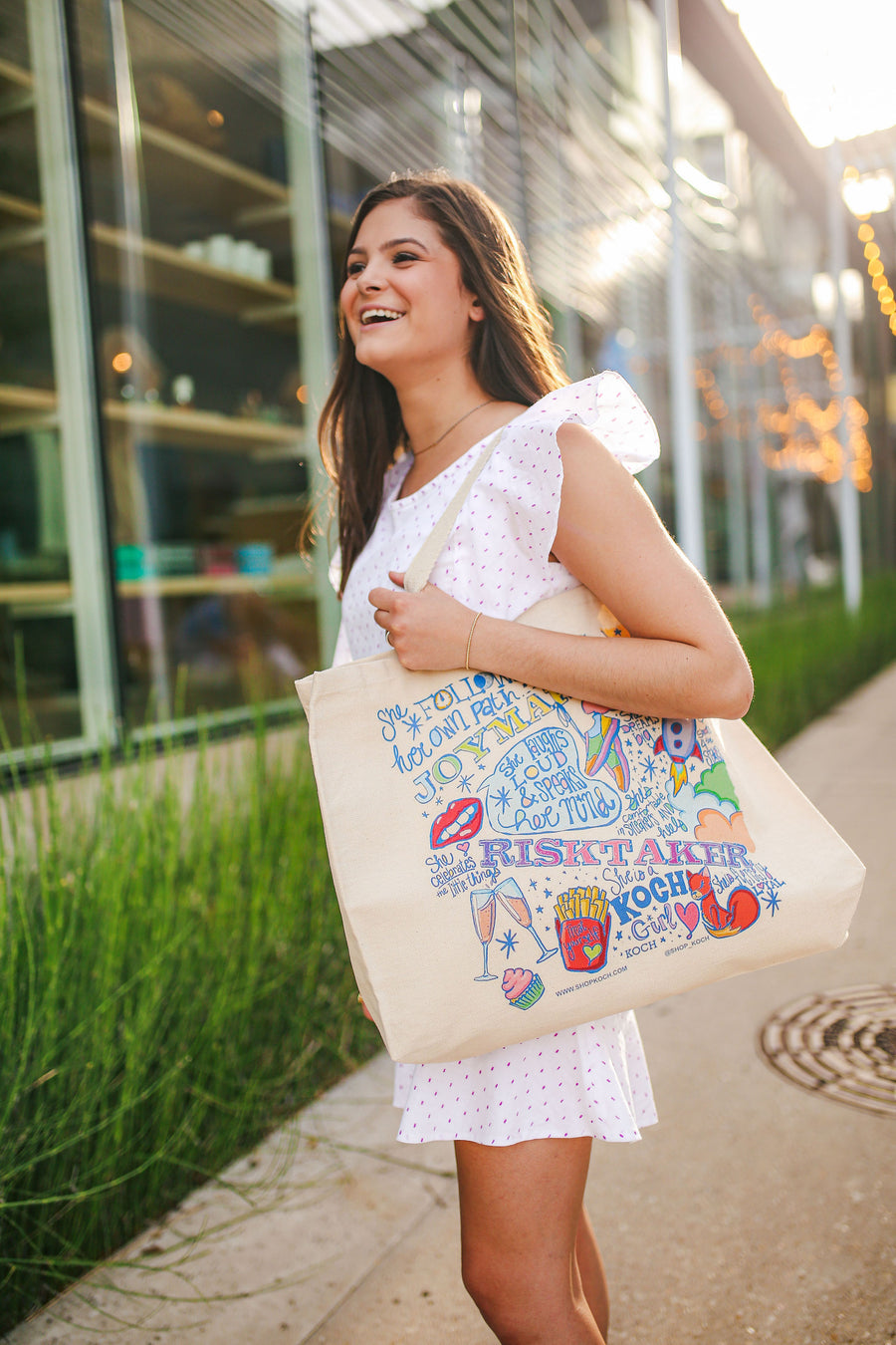 THE EMILY CANVAS TOTE *LIMITED*EDITION*