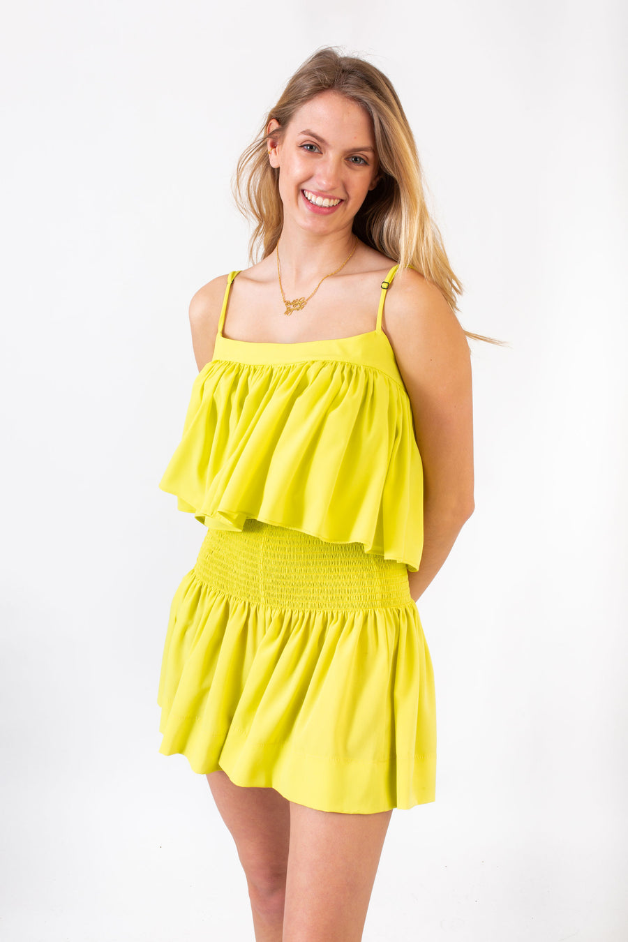ERICA SKIRT SUNRISE YELLOW *LIMITED*EDITION*