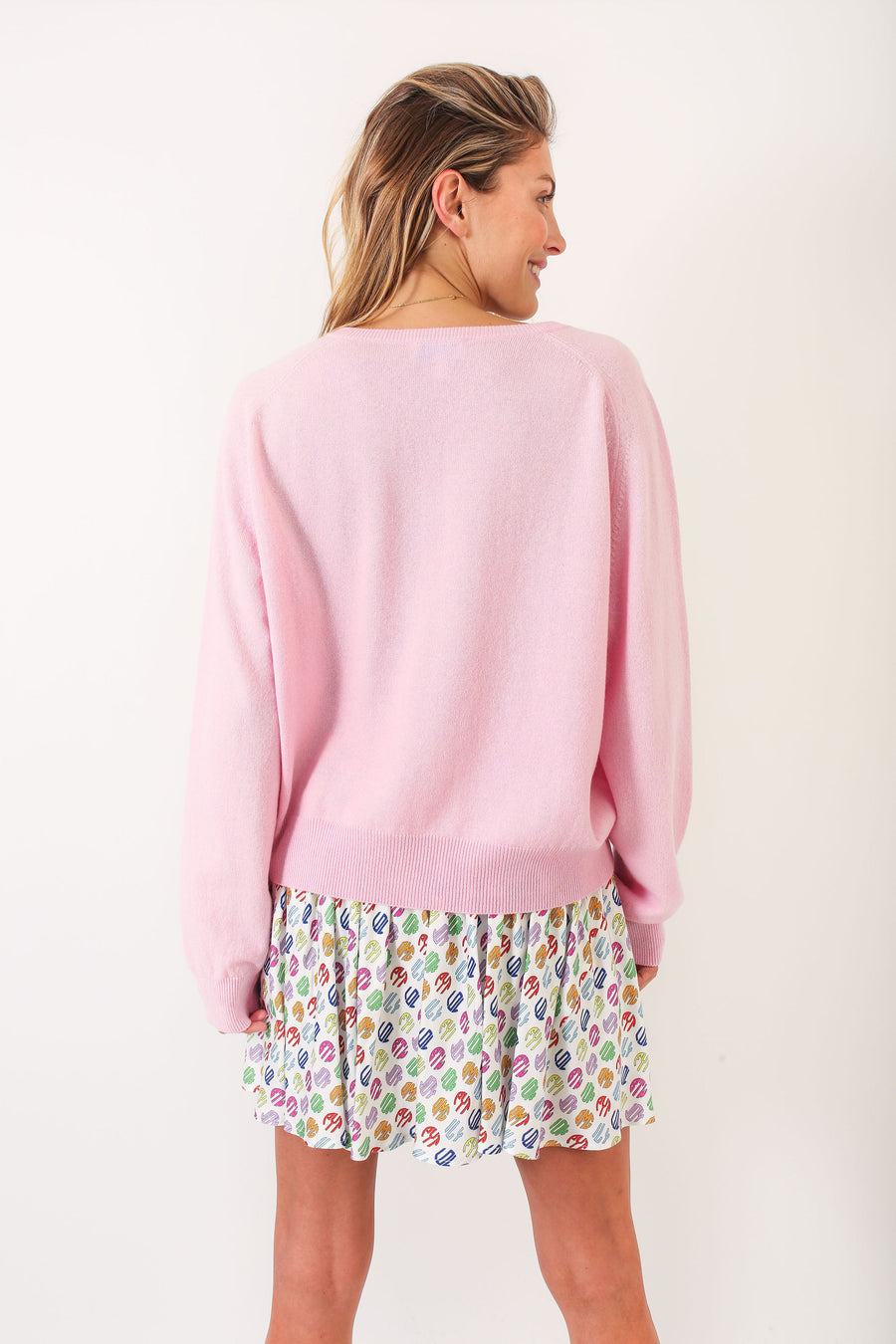 KARLA SWEATER PINK OMG