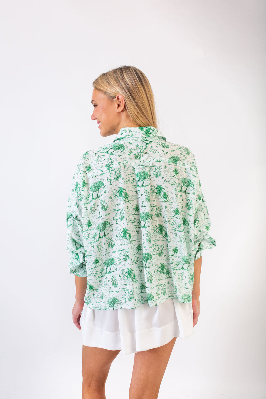 LYLE TOP KELLY TOILE