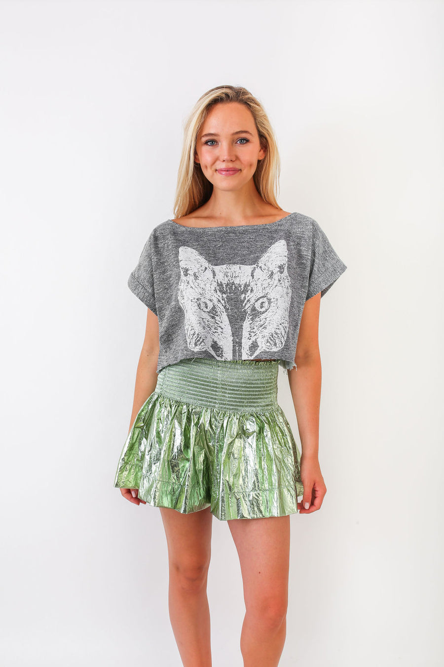 ENEVER FOX CROP *LIMITED*EDITION*