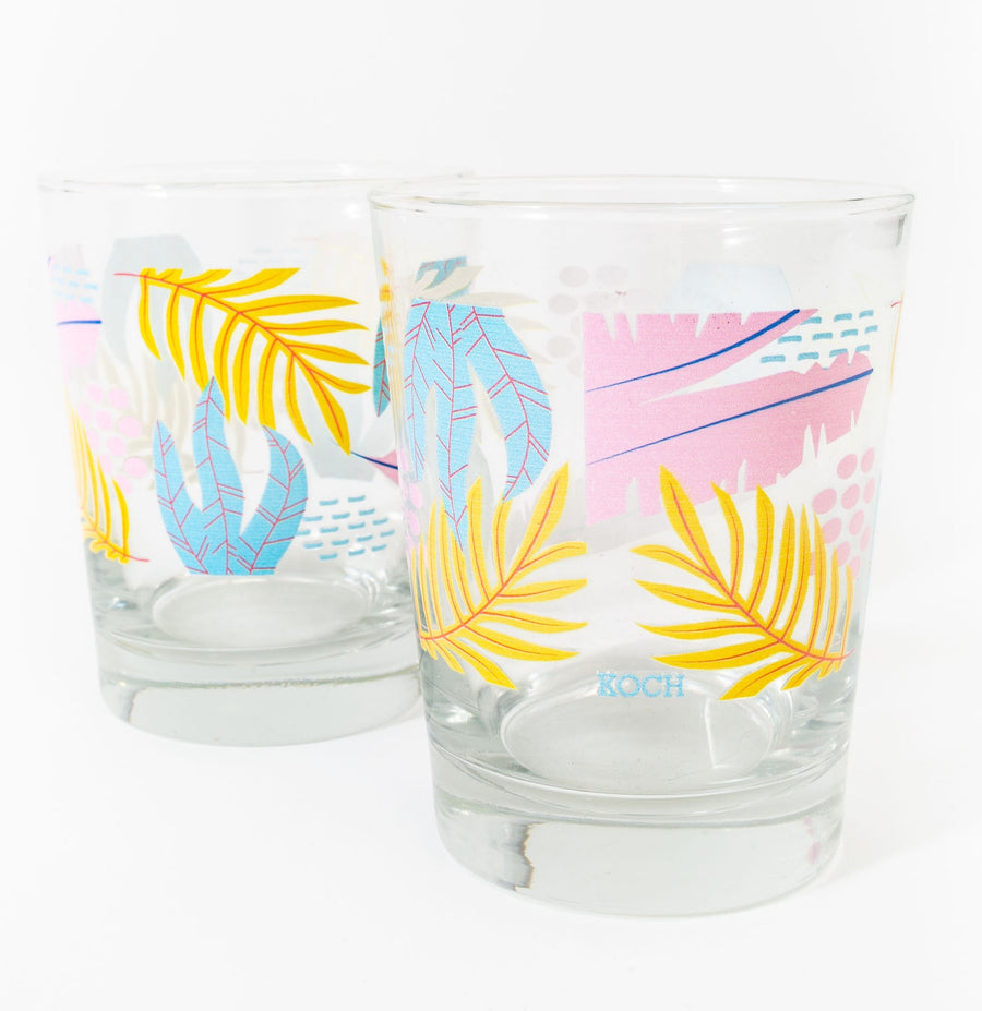 KOCH COCKTAIL GLASS SET *LIMITED*EDITION*