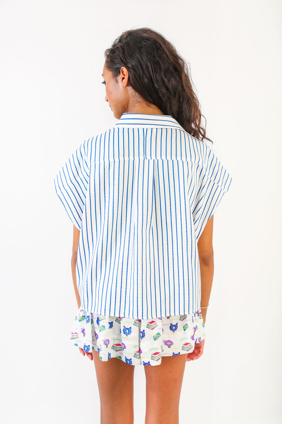 SPENCER TOP AMERICAN STRIPE *LIMITED*EDITION*