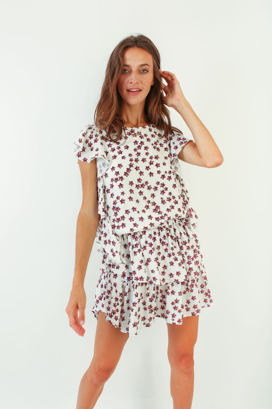 MADISON DRESS STAR PRINT *LIMITED*EDITION*