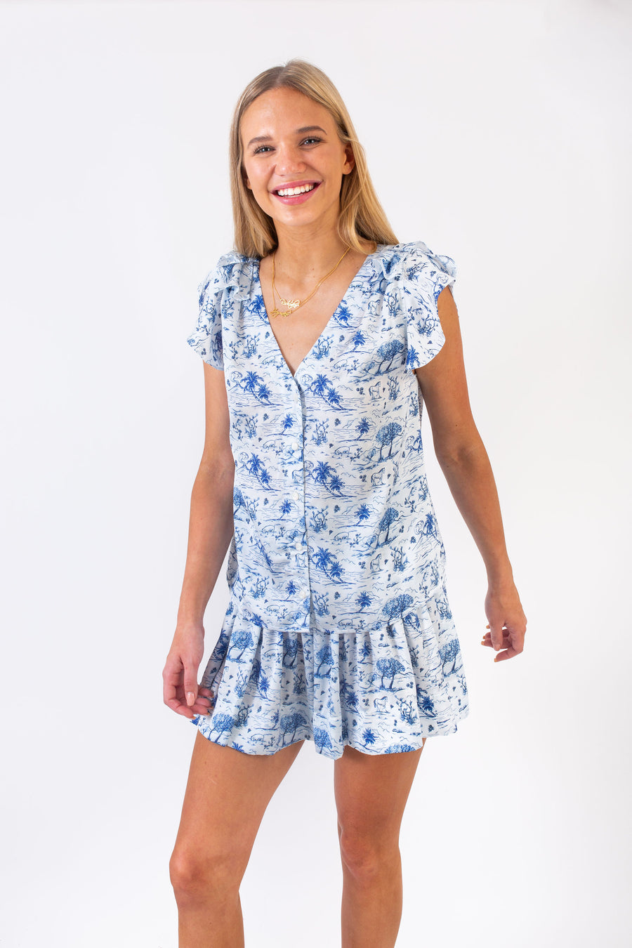 DANE TOP ROYAL TOILE