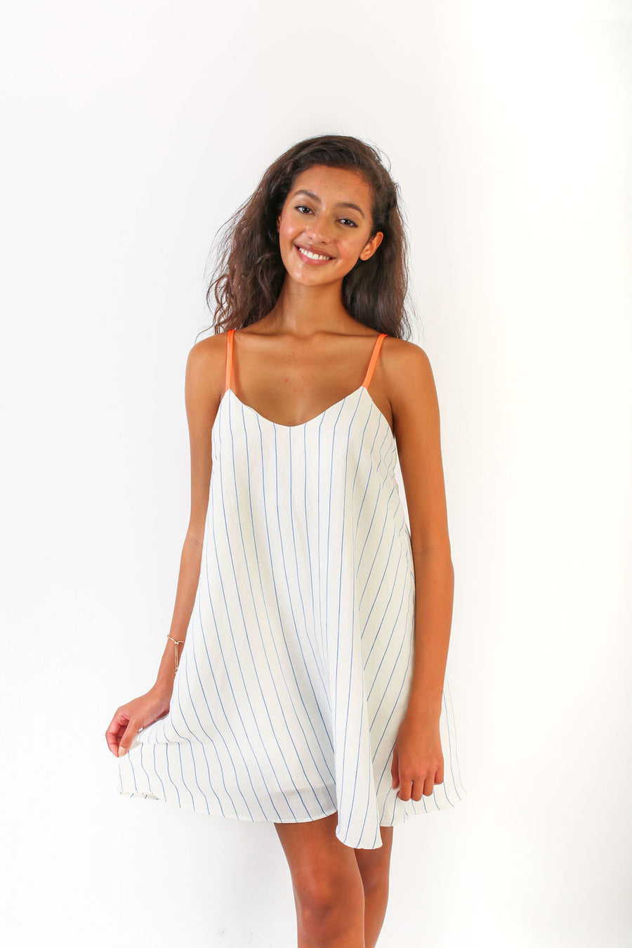 BRUNI DRESS COASTAL STRIPE *LIMITED*EDITION*