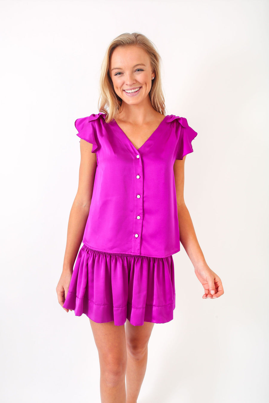 DANE TOP HOT PURPLE
