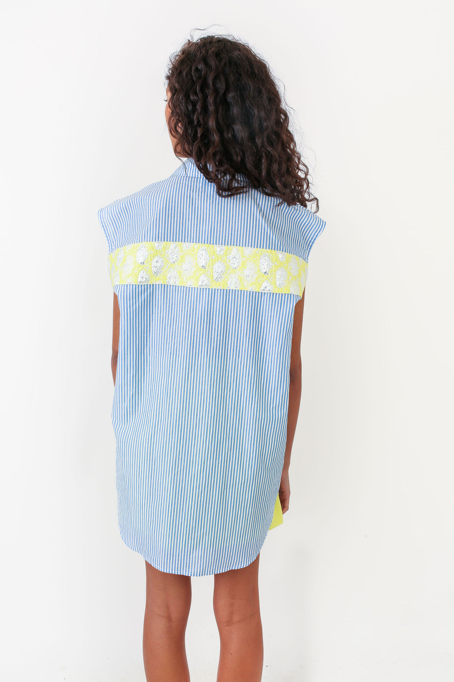 LEONA TOP OCEAN STRIPE *LIMITED*EDITION*