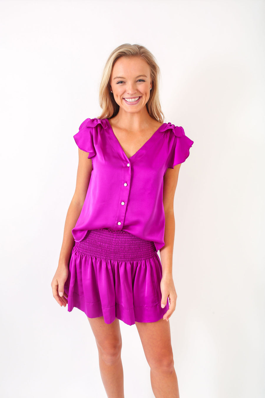 ERICA SKIRT HOT PURPLE