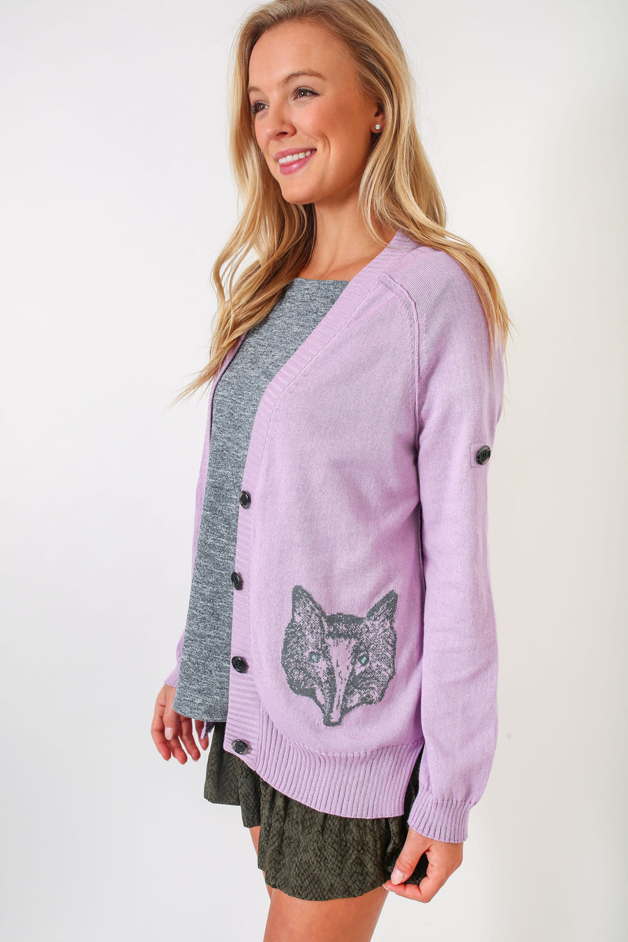 WHITMAN SWEATER NICK'S LILAC